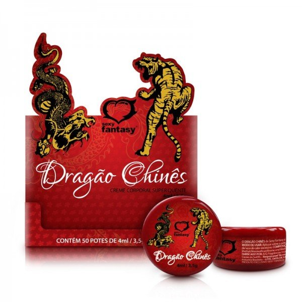 Pomada Dragão Chinês - Sexshop Atacado