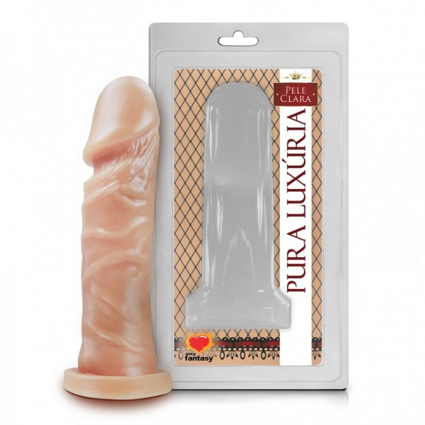Penis S/Vibro Cor Pele 15CM - Sexshop Atacado