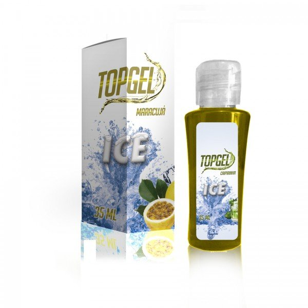 Top Gel Ice Maracujá - Sexshop Atacado