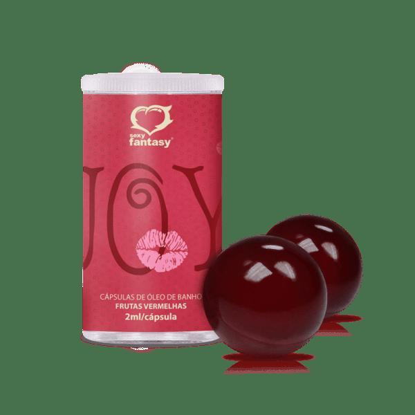 Bolinha Beijável Sabor Frutas Vermelhas - Sexshop Atacado
