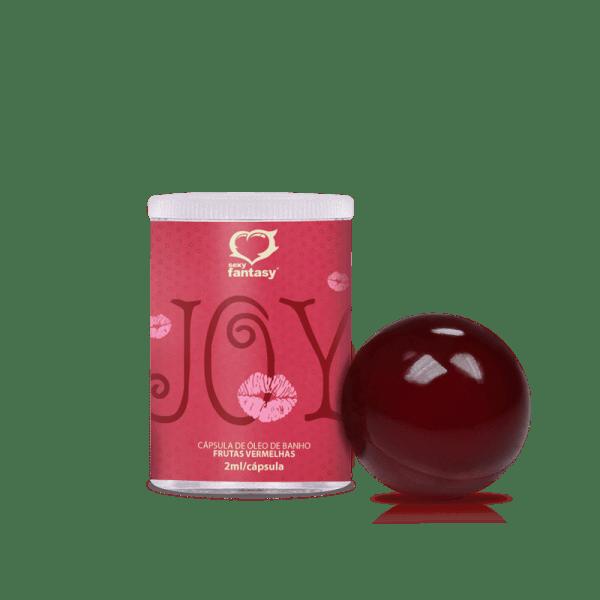 Bolinha Enjoy Frutas Vermelhas 2unid - Sexshop Atacado