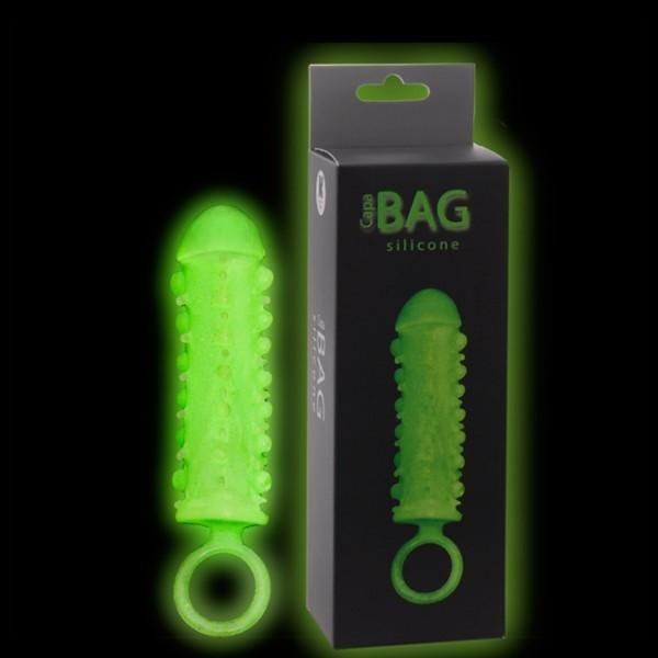 Capa Peniana Bag Fosforescente - Sexshop Atacado