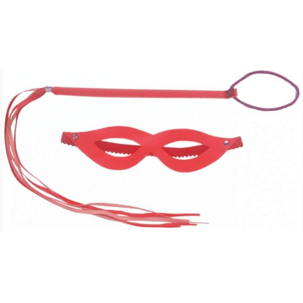 Kit Dominadora  Vermelho - Sexshop Atacado