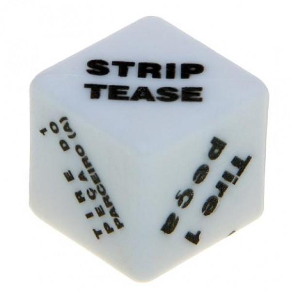 Dado Strip Ao Cubo - Sexshop Atacado