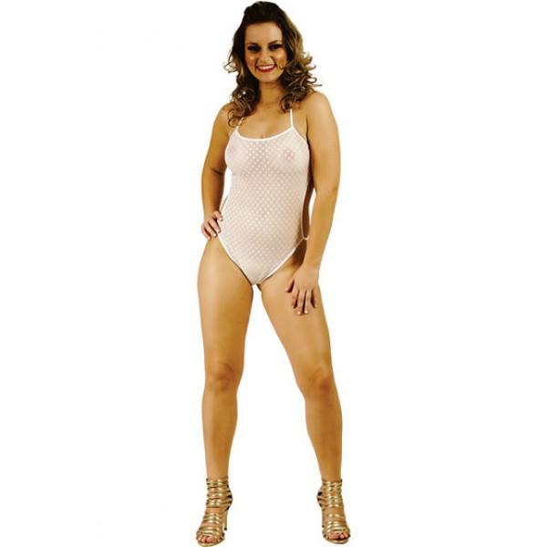 Boddy Renda Branco - Sexshop Atacado