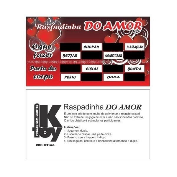 Raspadinha Do Amor - Sexshop Atacado