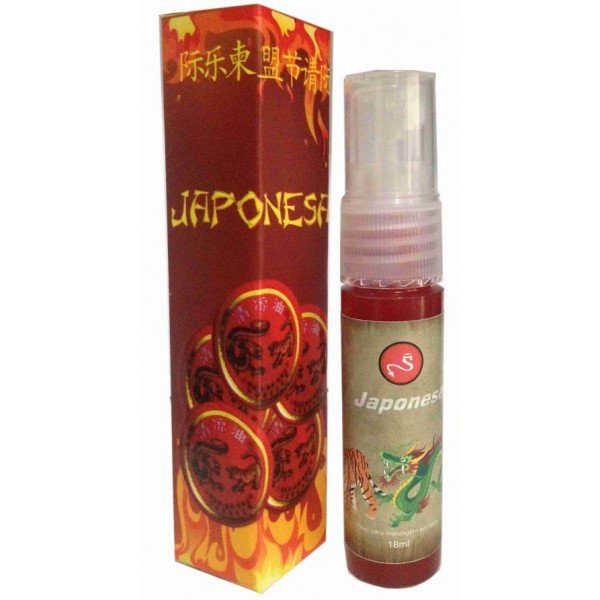 Japonesa Spray - Sexshop Atacado