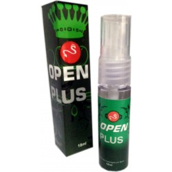Open Plus -   Lubrificante Anestésico Spray - Facilit - Lafasex 18ml