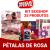 Kit Sex shop Erótico 25u Pétalas De Rosa Afrodisíacas Revenda