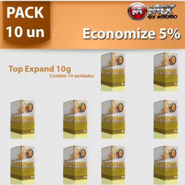 Pack 10 - Top Expand 10g - Sexshop Atacado