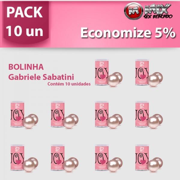 Pack 10 Bolinhas Gabriela Sabatini - Sexshop Atacado