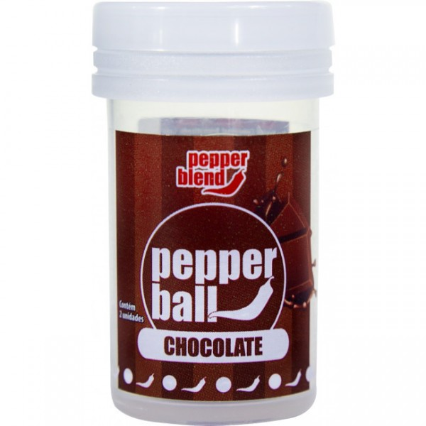 Pepper Ball Chocolate - Sexshop Atacado