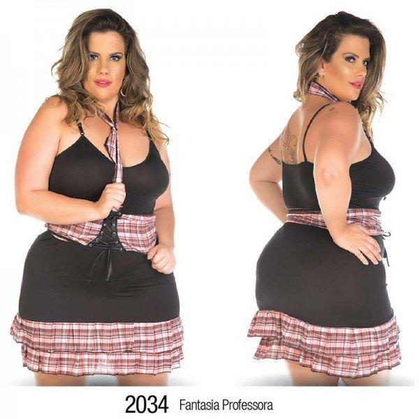Plus Fantasia Professora - Sexshop Atacado