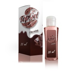 Top Gel Hot - Comestível - Sexo Oral - Chocolate - Lafasex 35ml