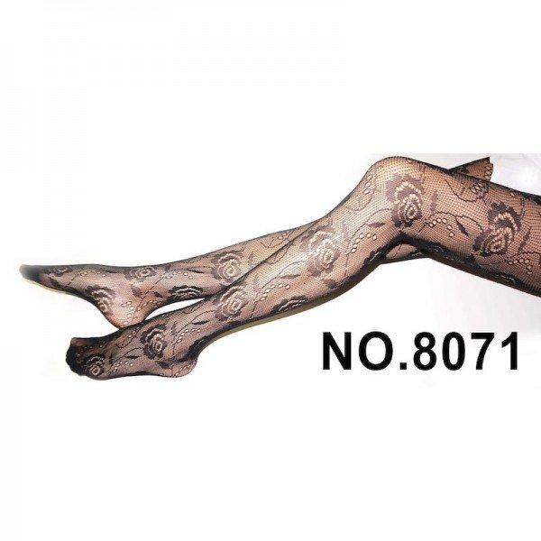 Meia calça arrastão com renda floral - DEIA THA III - Sexshop Atacado