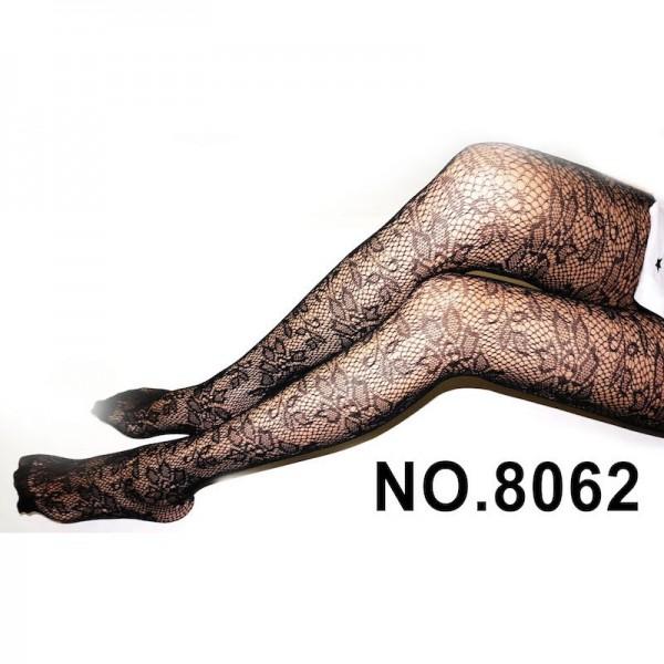 Meia calça arrastão com renda floral - DEIA THA - Sexshop Atacado
